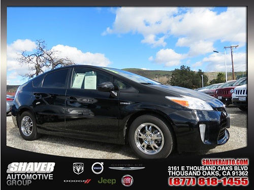 2013 TOYOTA PRIUS - 1 owner navigation solar roof pkg leather call today 680683 12500 Shav
