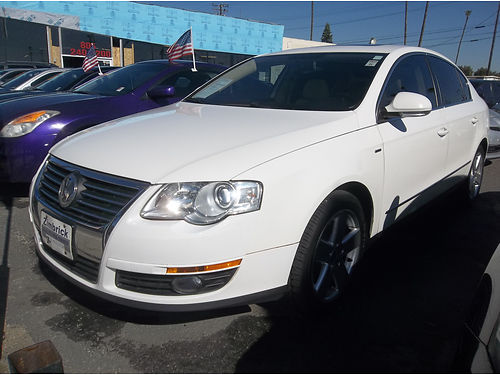 2007 VW PASSAT - Wolfsburg edition top of the line luxury all power super clean loaded runs  l