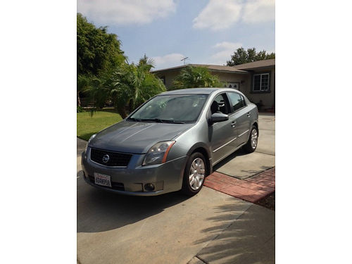 2008 NISSAN SENTRA 90k miles 4 cyl auto recent smog pw pdl charcoal gray 6400