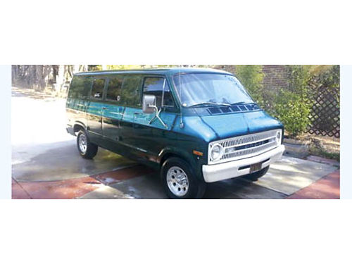 1971 DODGE VAN CLASSIC SURF van 318 stick shift 99K mi fits longboards pre smog 71 poster n