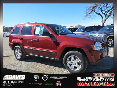 2007 JEEP GRAND CHEROKEE Laredo - auto air full power CD privacy glass alloys and more 1 owner