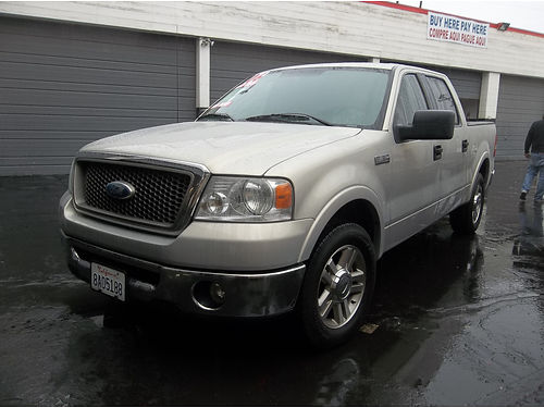 2006 FORD F150 - double cab full power ready  roomy for family strong working truck loaded sup