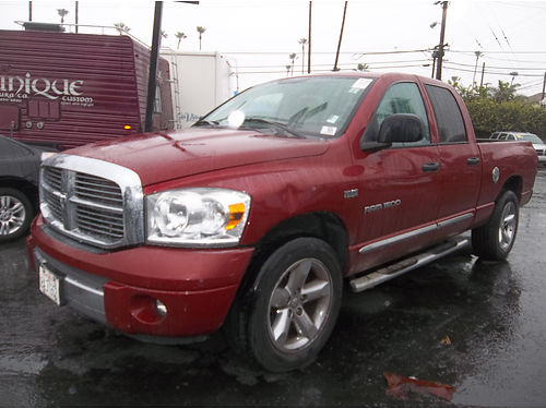 2007 DODGE RAM - double cab all power ready for family  work loaded running boards extra clean