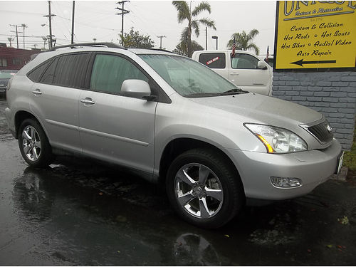 2009 LEXUS RX350 - super luxury  extra clean all power leather sunroof alloys more like new c