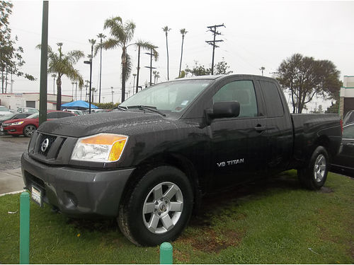 2008 NISSAN TITAN - extra cab Auto all power extra cab ready for work  family loaded powerful