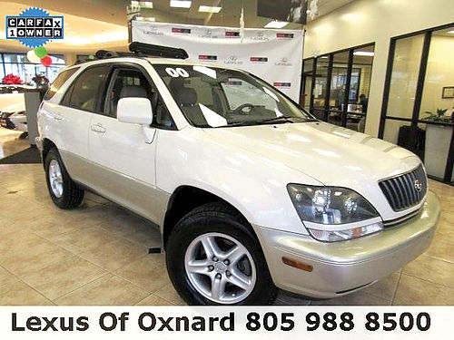 2000 LEXUS RX 300 - 1 owner clean carfax with services Loaded family luxury safety  comfort 13