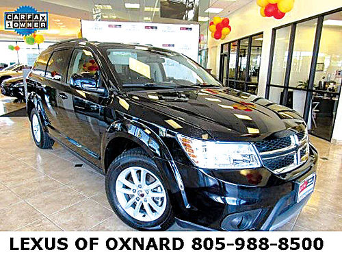 2015 DODGE JOURNEY SXT - rugged reliable 7 psngr SUV auto clean carfax service records useful