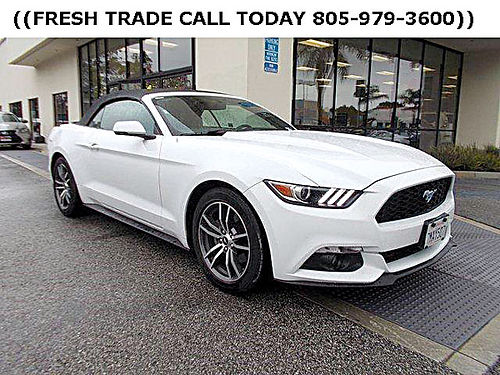 2015 FORD MUSTANG CONVERTIBLE - Clean carfax leather pony  premium pkg 426609-LSR0121 22488