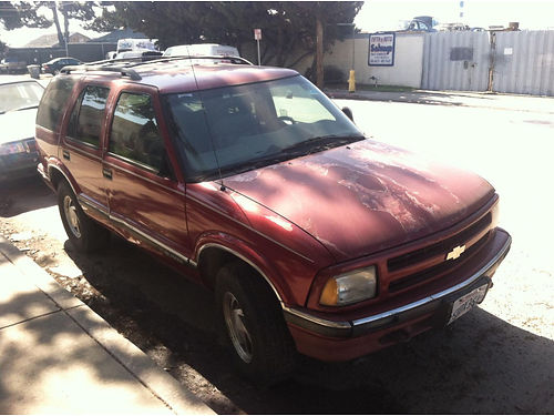 1997 CHEVY BLAZER 43L 950 obo please call 805-797-5381