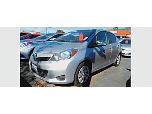 2014 TOYOTA YARIS - Low miles one owner 1135573406 10995 Bad or No credit Matricula OK SBC