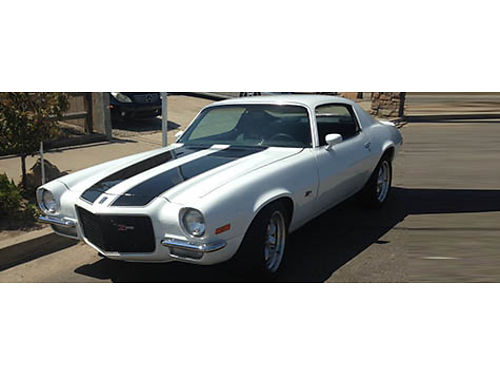 1970 CAMARO Z28 Completely professionally restored inside and out ZZ4 alum sm block way too much