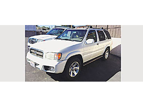 2002 NISSAN PATHFINDER LE - Nice 661710 4495 CASTRO AUTO SALES 954 E Grand Ave Arroyo Grand