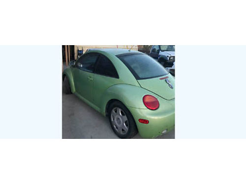 1999 VW BUG 127K miles automatic 18L turbo bad engine but have a used good engine ready for you