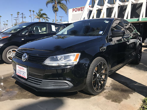 2012 VW JETTA - extra luxury  sporty low mileage super clean only 49k miles custom wheels load