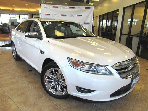 2010 FORD TAURUS LTD - spacious comfort clean carfax navi power opt solid reliable sedan 122