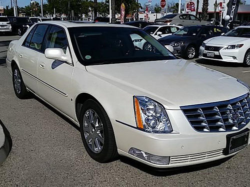 2007 CADILLAC DTS - Less than 55000 miles 1 owner clean carfax immaculate loaded luxury Hurry