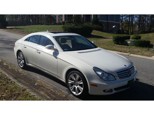 2008 MBZ CLS 550 - Clean carfax auto leather full power gorgeous luxury ride 133758lxp1976a