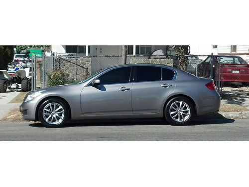 2008 INFINITI G35 auto V6 all pwr lthr AC CD alarm 130K mi well maint new full maint svc j
