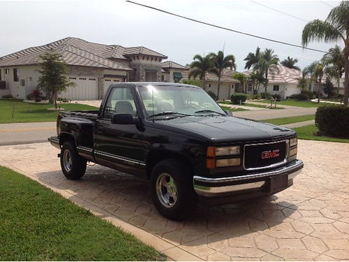 1994 GMC SIERRA 1500 stick shift 6cyl 2 tone paint good working truck Vortec eng 2200 obo ca