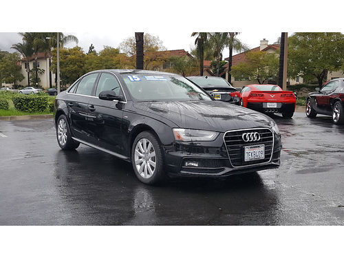 2015 AUDI A4 S-line - look Loaded sport luxury auto leather premium audio affordable excitment