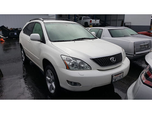 2007 LEXUS RX 350 - family special 1 owner clean Carfax wservices reliable safe comfort Auto