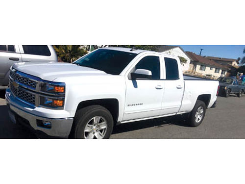 2015 CHEVY SILVERADO 1500 EXT CAB LT 4dr auto V8 53L back up cam tow pkg all pwr AC CD 1