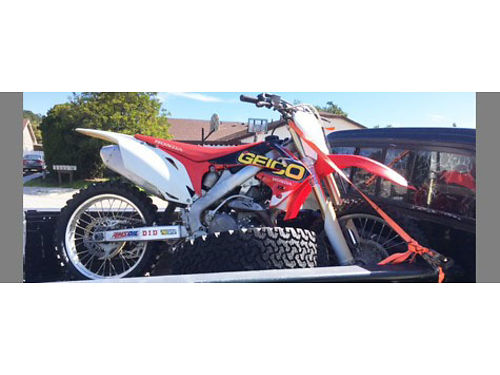 2011 HONDA CRF450 low hours 4500