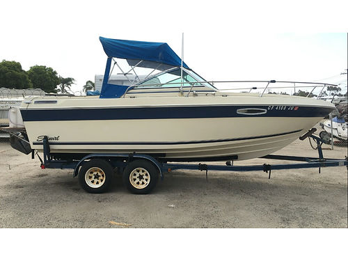 1989 SEASWIRL SABLE 22 new 350 Chevy Cobra outdrive receipts 2 radios GPS fishfinder live ba