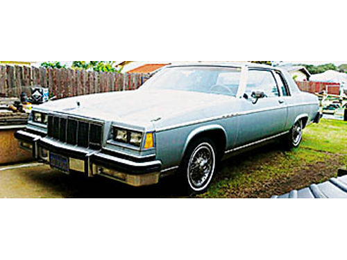 1981 BUICK PARK AVENUE - All original classic About 93000 miles 2000 obo