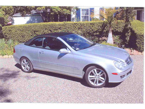2006 MERCEDES BENZ 350 CLK Convertible Best deal ever Mint condition only 55K miles - like new