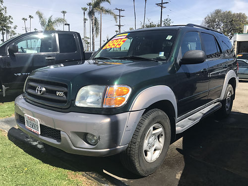 2002 TOYOTA SEQUOIA - family size extra roomy and luxury all power big family size loaded runs
