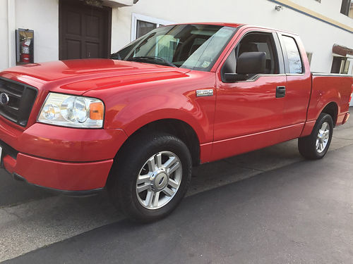 2005 FORD F150 EXT CAB auto Triton V8 46L 4dr seats 6 low mi AC CD bedliner well maint r