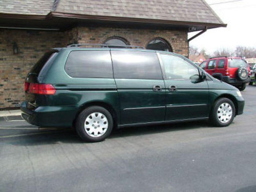 2001 HONDA ODYSSEY auto V6 super clean in and out runs great 7 pass nice interior AC CD 156