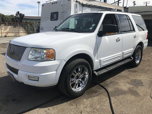 2003 FORD EXPEDITION - super luxury extra roomy for family extra clean leather interior runs exc