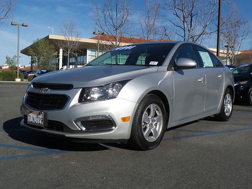 2015 CHEVY CRUZE LIMITED - must see Auto air gas saver excellent condition call now 163854-HP