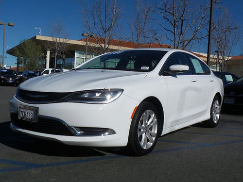 2015 CHRYSLER 200 Limited - on sale Auto air ABS like new 666869-HP2902 13991 Honda of Tho