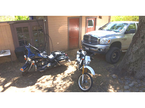 PACKAGE DEAL - Truck and Motorcycles 2008 DODGE RAM 2500 CREW CAB 4WD diesel all extras lifted