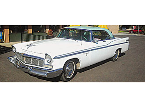1956 CHRYSLER NEW YORKER ST REGIS 2dr Hardtop 396 Hemi Rebuilt Trans PS PB PW bought new in