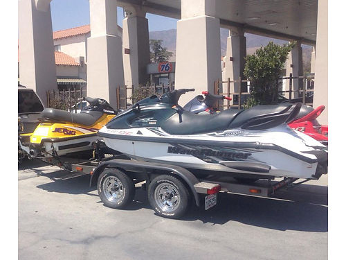 THREE JET SKIS Package deal 1997 Kawasaki 1100STX Red 3 seater 140 hrs 1998 Kawasaki ZXI 1100