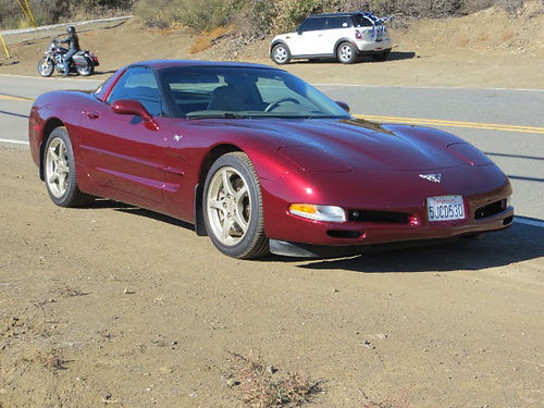 2003 50TH ANNIVERSARY CORVETTE For Sale - This car was our fun car for trips not a Garage Queen nor