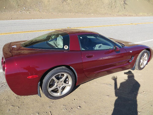 2003 50th anniversary corvette for sale cars and vehicles oxnard ca. Black Bedroom Furniture Sets. Home Design Ideas