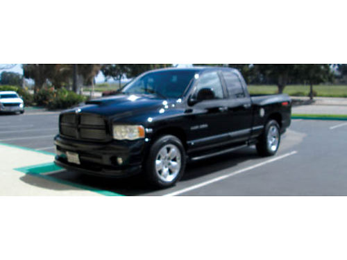 2005 DODGE RAM 1500 QUAD CAB Hemi Sport V8 auto 4dr 98K mi all pwr AC CD new tires good co