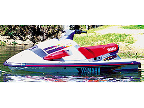 1996 YAMAHA 1100 Triple carb Jet Ski ONLY 72 actual hrs In immaculate like new cond owned by 70 y