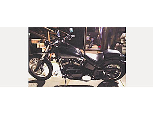 2012 HARLEY-DAVIDSON Blackline 103 - Only 1150 miles like new includes HD battery tender and cover