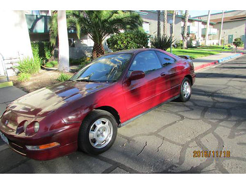1997 ACURA INTEGRA auto 2529 MPG smogged well maint beautiful ext lthr int AC stereo pw r