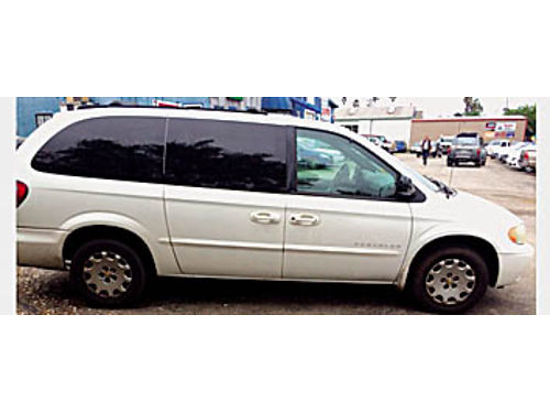 2001 CHRYSLER TOWN  COUNTRY - Some rust but is reliable transportation Fresh smog 750 K  J WHO