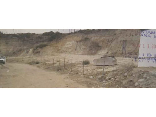 TIJUANA BAJA CALIFORNIA LAND- 3 Lots perfect to build 1 lg or 3 sep houses Ocean views all three