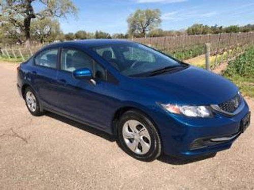 2014 HONDA CIVIC LX auto 4cyl 4dr all power back-up camera 17K mi AC CD super clean in  ou
