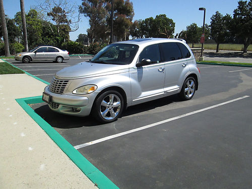 2004 CHRYSLER PT CRUISER GT 24L Turbo High power model auto 4cyl fully loaded heated seats s