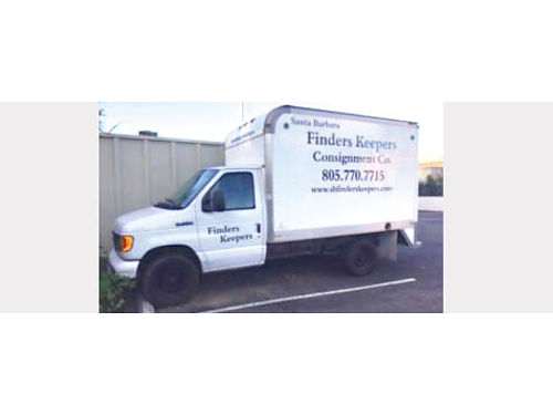 2006 FORD E350 BOX TRUCK auto PS gas air only 106K miles great cond ready for work 8500
